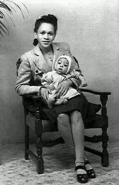 Jimi Hendrix & His Mom