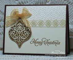 Going for the Gold...Again by bon2stamp - Cards and Paper Crafts at Splitcoaststampers