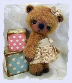"""*""""FELI"""" ~ Old Style Bears - SimaBears by Simone Marthaler"""