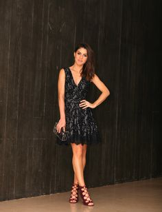 camila coelho party look nine west shoes