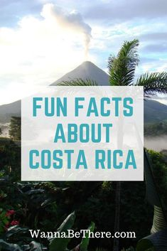 Want to know some fun facts about Costa Rica? Do you know what kind of language they speak? See how many rainforests they have and what kind of food they eat. Vacation Places, Honeymoon Destinations, Amazing Destinations, Vacations, Costa Rica Attractions, Cost Rica, Costa Rica Travel, Countries To Visit, South America Travel