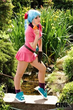 bulma dragon ball cosplay by ~neliiell on deviantART