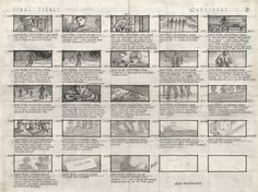 The Outsiders (1983) - Storyboard by Alex Tavoularis for Francis Ford Coppola