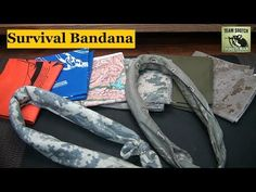 Survival Bandana : 40 Brilliant Uses http://rethinksurvival.com/posts/survival-banndana-40-uses-video/