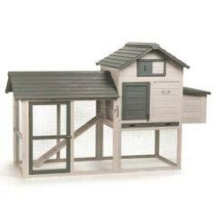 Het huis van onze kipjes Nikki & Chicki