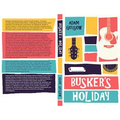 The author described his story as Kerouac goes to the beach, so I wanted to capture the quirk and piecing-together journey so common in his cover designs.