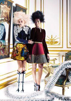 To The Max - September 2012 / Fashion Director: Elizabeth Cabral / Photographer: Chris Nicholls