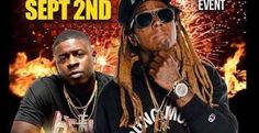 Lil Wayne In Concert Labor Day weekend in Hammond Indiana