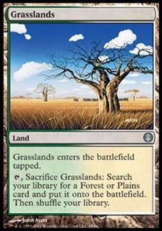 Pastagem / Grasslands | Busca de Cartas | Ligamagic