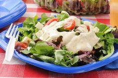 Summer Salad Dressing / Photo by Shutterstock http://www.epicurious.com/expert-advice/best-creamy-salad-dressing-trick-idea-recipe-article