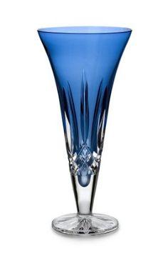"Amazon.com: Waterford® Crystal Lismore Sapphire 9"" Vase: Furniture & Decor"