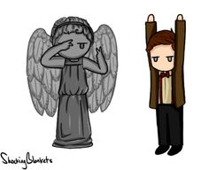 Aint no party like a time lord party.  Click thru for gif.