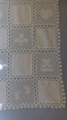 Copertina neonato lino e uncinetto Nuova 4 Baby Blanket Crochet, Crochet Baby, Dress Neck Designs, Manta Crochet, Filet Crochet, Baby Knitting, Crochet Projects, Baby Gifts, Diy And Crafts