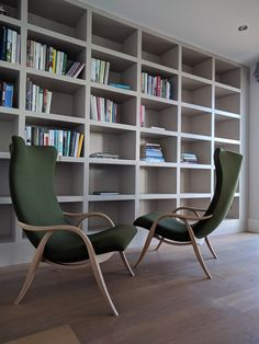 RHD Architects Library Chairs
