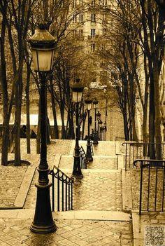 Rue Foyatier | Montmartre, Paris