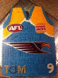 west coast eagles cake - Google Search 14th Birthday Cakes, West Coast Eagles, Celebrations, Cake Decorating, Football, Club, Google Search, Recipes, Kids