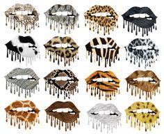 Dripping Lips SET 3 Animal Print Sublimation PNG Digital Design – The SVG Corner fillers kiss natural shape women lipstick Black Girl Art, Art Girl, Dripping Lips, Printing Websites, Printable Designs, Cricut Creations, Jungle Animals, Black Artwork, Art Prints