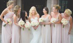 Colorado wedding photography | Denver wedding photography | Bridal Party Idea | Trinity United Methodist Church Denver, Colorado :: ilana natasha photography | bridesmaid dresses