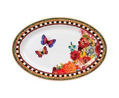 """Servírovací talíř """"Sever II"""", 22 x 30,5 cm"""