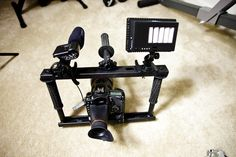 DIY DSLR Cage / Fig Rig / Stabilizer