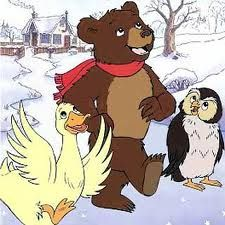 Little Bear is one of my favourite cartoons. I loved watching it with my girls when they were just wee.