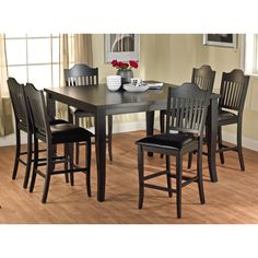Simple Living 7-Piece Verano High Dining Set - Overstock™ Shopping - Big Discounts on Simple Living Dining Sets