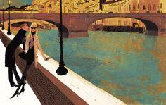 Tadahiro Uesugi - tiphaine-illustration Art And Illustration, Illustrations Posters, Japanese Drawings, Japanese Artists, Art Puns, Pretty Drawings, Commercial Art, Visual Development, Art Graphique