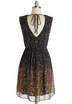 Confetti to Go Dress, #ModCloth