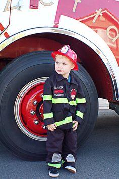 A super cool fire truck theme:
