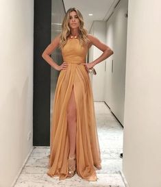 Cute Party Dress with slit ,long prom dress, Shop plus-sized prom dresses for curvy figures and plus-size party dresses. Ball gowns for prom in plus sizes and short plus-sized prom dresses for Cute Dresses For Party, Prom Party Dresses, Bridesmaid Dresses, Formal Dresses, Prom Gowns, Fall Dresses, Long Dresses, Prom Dress Shopping, Women's Evening Dresses