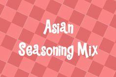 Rub Recipes, Honey Recipes, Sauce Recipes, Asian Seasoning, Italian Seasoning Mixes, Rosemary Herb, Habanero Sauce, Teriyaki Sauce
