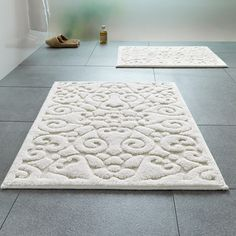Decorating With Large Bathroom Rugs Bathrooms Dream White