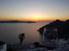 Santorini Greece, Celestial, Sunset, Outdoor, Outdoors, Sunsets, Outdoor Games, Outdoor Life, The Sunset