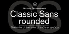 Classic Sans Rounded font download
