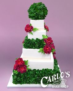 Wedding Cakes - the must try brilliant pin image number 1995503405 Wedding Cake Fresh Flowers, Fall Wedding Cakes, Tiered Cake Stands, Tiered Cakes, Beautiful Cake Designs, Beautiful Cakes, Carlos Bakery Cakes, Spring Cake, Cake Gallery