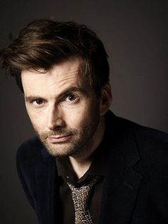 Sweet Mother of Celestia... That is a mad man whose box I'd love to visit. Which is to say, David Tennant. Also, YUMM!