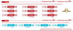 Digiturk Platin Film ve Dizi Paketi Kanalları