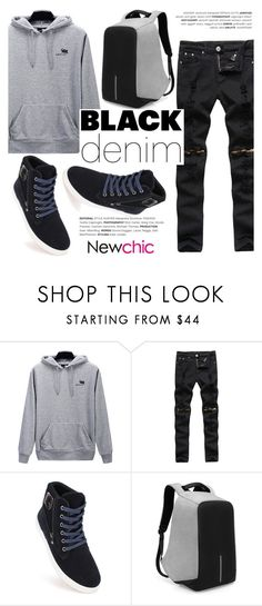 """Newchic"" by helenevlacho ❤ liked on Polyvore"