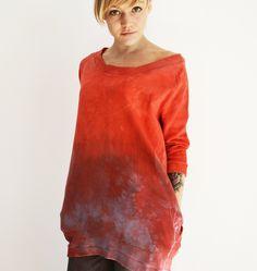 hand dyed goshko Tie Dye, Tunic Tops, Clothes, Women, Fashion, Outfits, Moda, Clothing, Fashion Styles