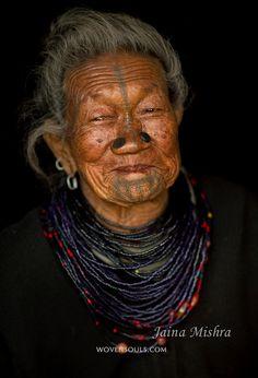 India | Apatani woman, Ziro, Arunachal Pradesh | ©Jaina Mishra ~ Wovensouls