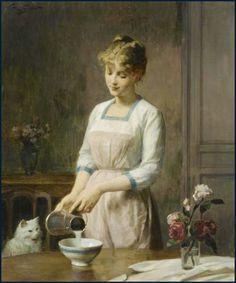 Victor Gabriel Gilbert, 'Anticipation'