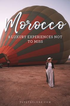 8 Luxury Experiences Not to Miss in Morocco Here's our pick of the best luxury experiences to have in Morocco. Visit Morocco, Morocco Travel, Africa Travel, Visit Marrakech, Vietnam Travel, Travel Guides, Travel Tips, Travel Hacks, Travel Packing