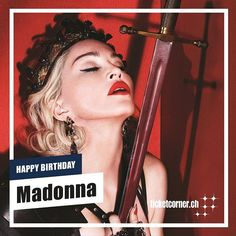 Die unangefochtene Queen of Pop wird heute 61 und ist noch keinen Tag gealtert. Madonna Germany  Happy Birthday!  #ticketcornermoments #madonna #happybirthday #happybirthdaymadonna #ticketcorner Madonna, Happy Birthday, Pop, Alter, Shit Happens, Twitter, Instagram, Movie Posters, Happy Brithday