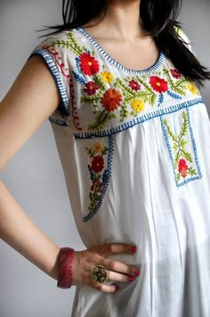 Simple and pretty embroidery