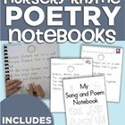 Use poetry notebooks to accomplish your goals in your classroom.    This notebook is easy to print, bind and each student can have their own. It feat...