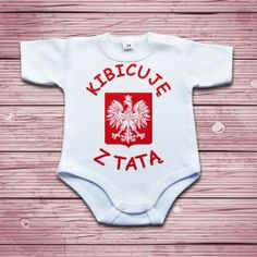 Kibicuję z tatą Fashion Kids, Onesies, Clothes, Outfits, Clothing, Kleding, Babies Clothes, Outfit Posts, Jumpsuits