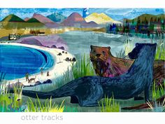 Jill Calder illustration - love her work Creative Illustration, Photo Illustration, Illustration Animals, Work Inspiration, Graphic Design Inspiration, Paintings I Love, Beautiful Textures, Love Art, Illustrators