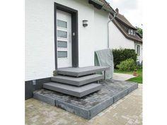 Betonpodest Aulico // Betonstufen // Hauseingang // Concrete - maßgeschneidert für Ihr Zuhause