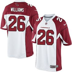 8603e02b2 Youth Nike Arizona Cardinals  26 Brandon Williams Limited White NFL Jersey  Cardinals Jersey