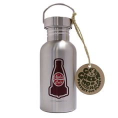 Fallout Trinkflasche ECO Edelstahl Nuka Cola Travel Mugs, Fallout, Water Bottle, Stainless Steel Paint, Drinking Water Bottle, Flasks, Cleaning, Foods, Packaging